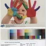 Farbproof nach dem Farbprofil FOGRA40 SC Paper