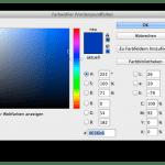 Farbwähler in Photoshop