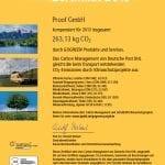 GOGREEN Zertifikat 2013 Proof GmbH