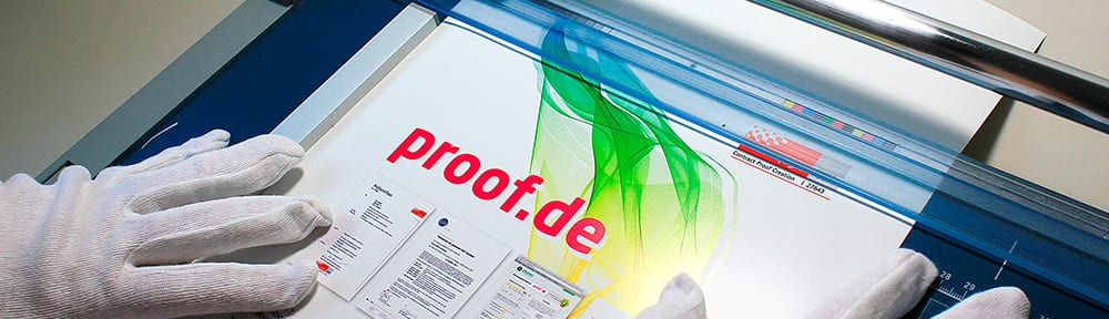 proof.de – Alles rund um Proof, Farbproof, Digitalproof und Online Proof