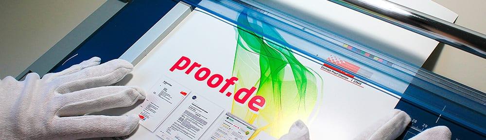 proof.de – Alles rund um Proof, Farbproof, Digitalproof und Online Proof
