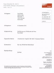 Fogra Gutachten Proof GmbH 2015 Nr. 29712