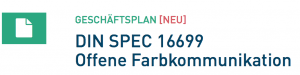 DIN SPEC 16699 Offene Farbkommunikation
