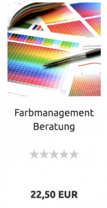 Farbmanagement Beratung und Expertise