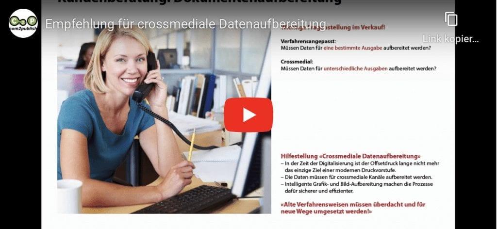 Video Crossmediale Datenaufbereitung mit dem HLC Farbatlas