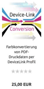 Devicelink PDF Farbkonvertierung