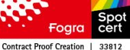 Fogra Cert 33812 - Proof GmbH